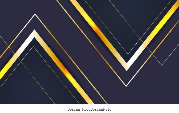 Decorative background shiny modern flat sharp angles vector