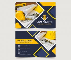 Design page template design card vector