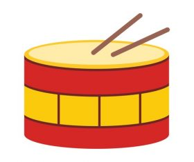 Drums Icons vector