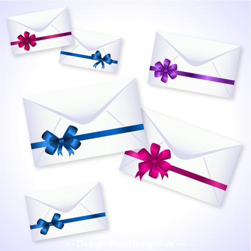Envelopes and ribbon knot vector
