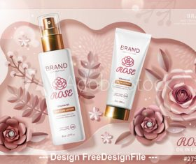 Skincare Vector For Free Download