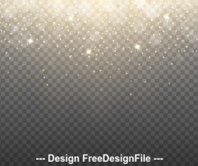 Flashing Stars background vector