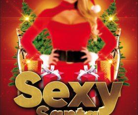 Funny Santa Psd Flyer PSD Template