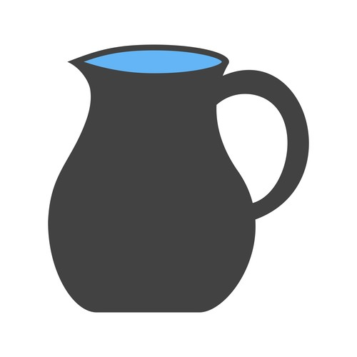 Jug Icons vector