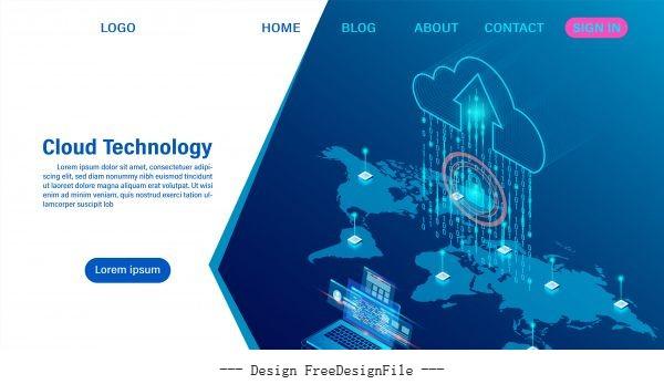 networking concept illustration design vectors