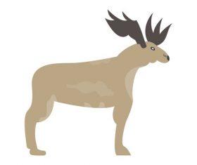 Moose icon vector