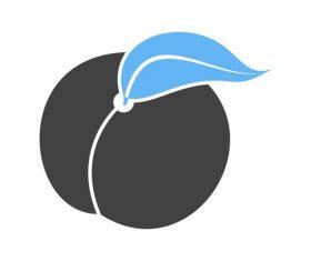 Peach Icons vector