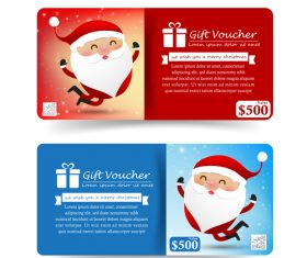 Red and blue background Christmas sale banner vector