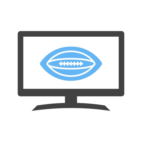 Rugby match Icons vector