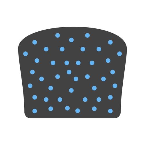 Scone bread Icons vector