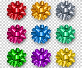 Silk realistic flower vector