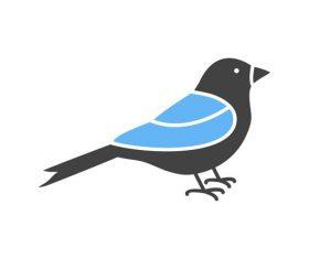 Sparrow Icons vector