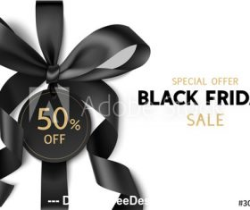 Special offer friday sale design template vector