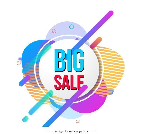 Special sale set vector