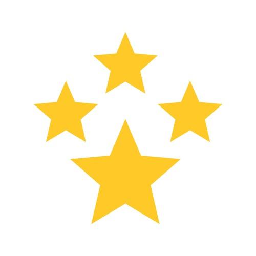 Stars icon vector
