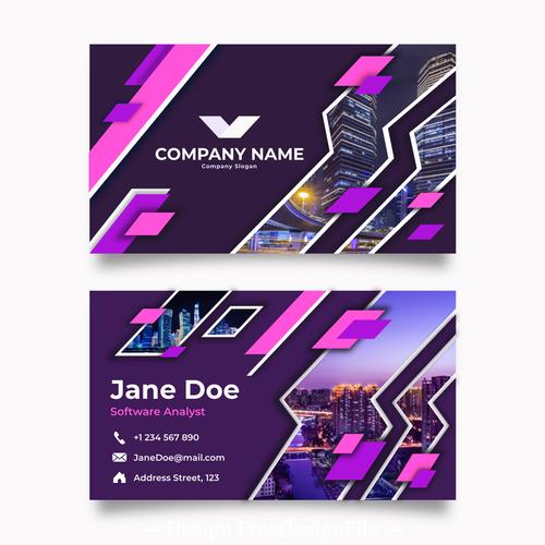 Business card sizes - Printernational