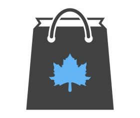 Thanksgiving shopping Icons vector