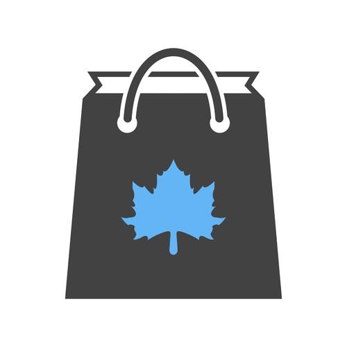 Thanksgiving shopping Icons vector
