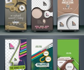 Various banner collection vector