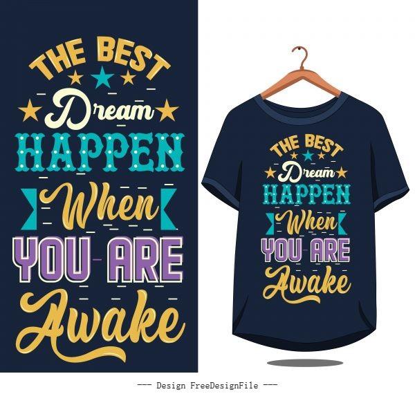 Vintage quote motivational design vector