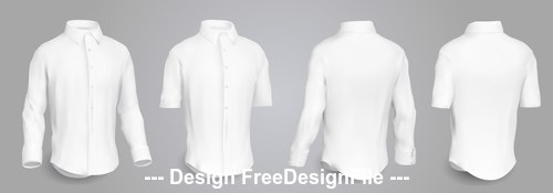 White shirt vector