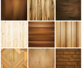 Wooden decorative texture vector