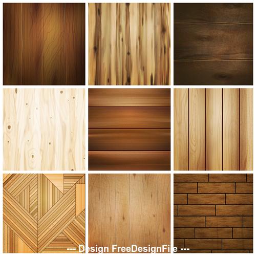 Wooden decorative texture vector