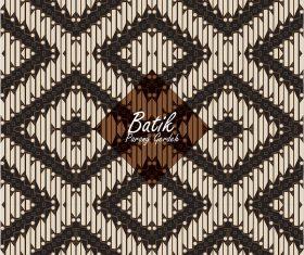 batik of indonesia motif parang gedreh vector