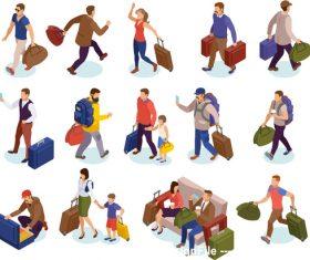 illustration go travel vector