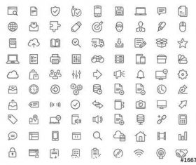 116 Line art icon vector