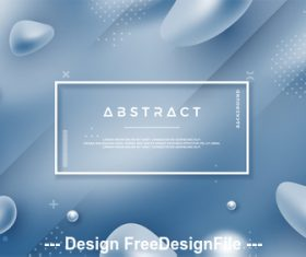 Abstract background element card vector