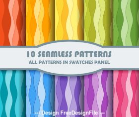 Color bright seamless pattern vector