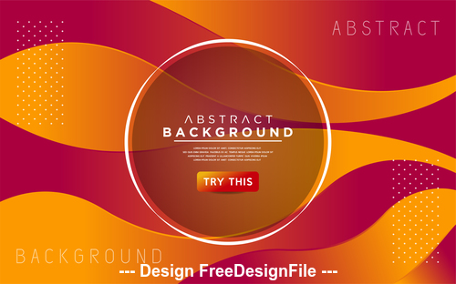Colored abstract design background vector