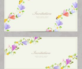 Crocus card vector