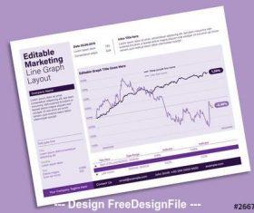 Editable infographic vector