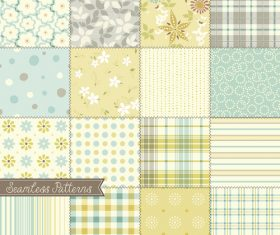 Exquisit seamless pattern background vector
