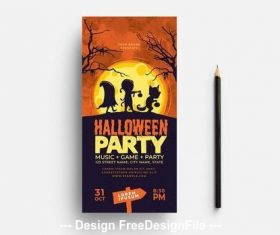 Halloween illustrative vector