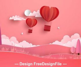 Happy valentines day gift vector