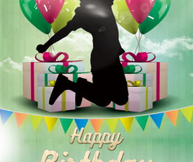 Kids Birthday Party Poster and Flyer PSD Template