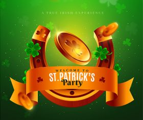 St. Patrick Flyer Template PSD Design