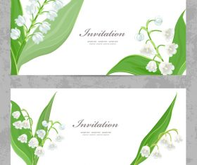 lily card vector