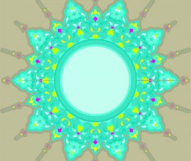 Ornament mushaf vector design