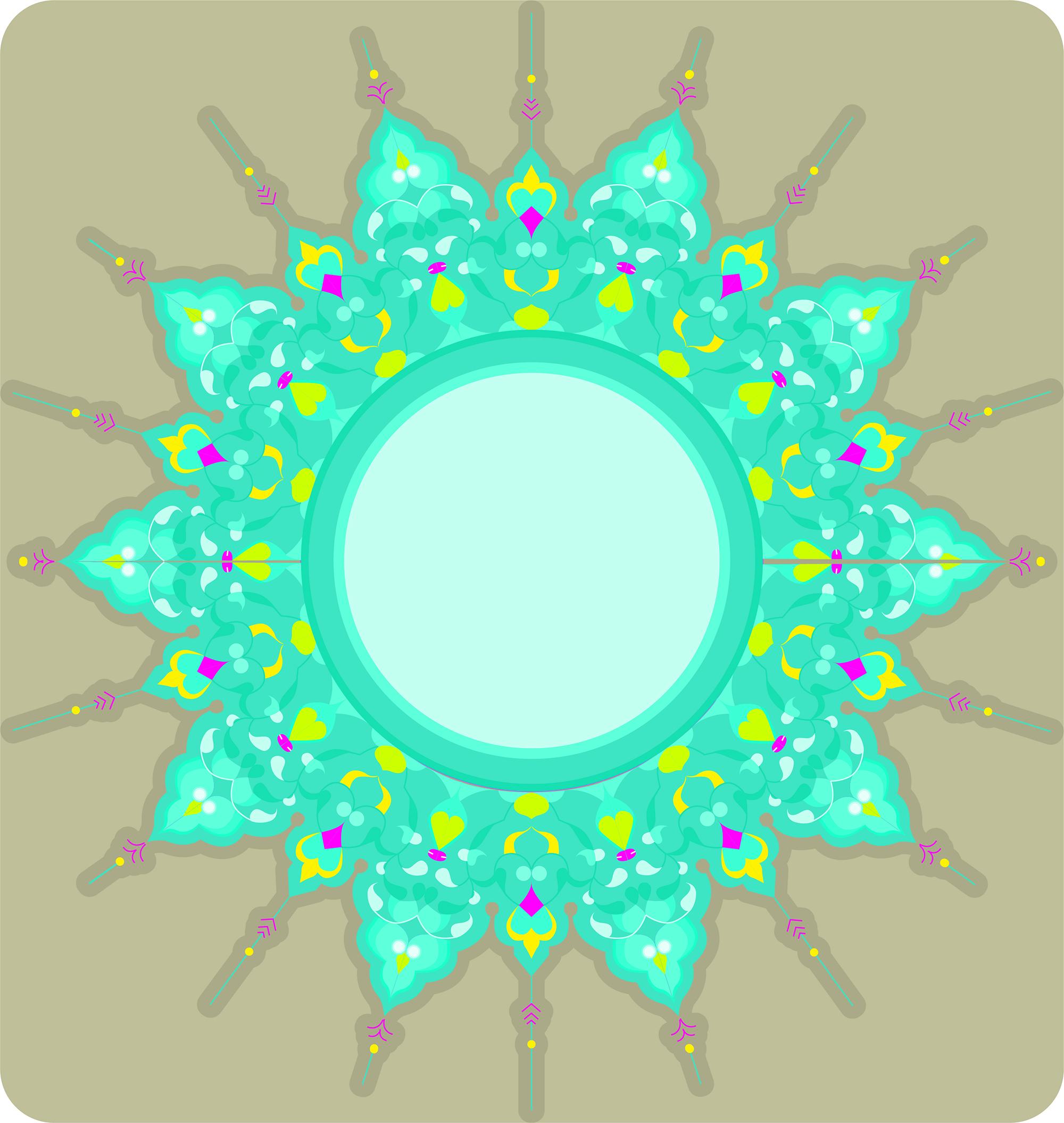 Ornament mushaf vector design