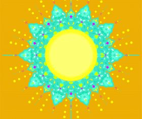 mushaf yellow vector