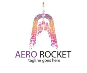 Aero Rocket Logo vector