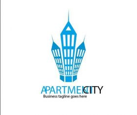 Apartment City Logo vector