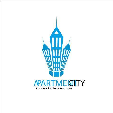 Apartment City Logo vector