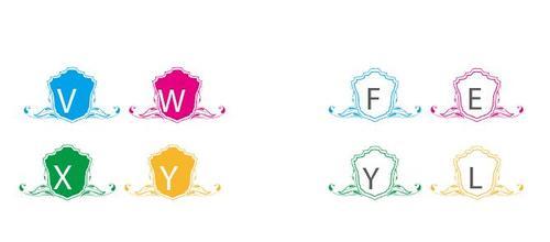 Aroid Hotel Letter Logo vector