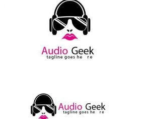 Audio Geek Logo vector