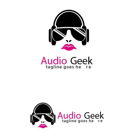 Audio Geek Logo vector